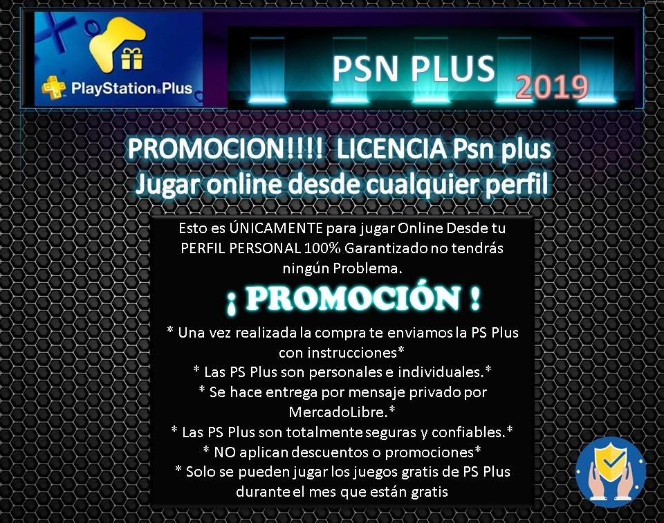 Psn Plus 14 16 Dias 1 48 Promocion 11 Enero 2019 1 48 En
