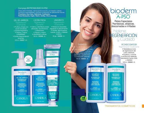 psoriasis: shampoo y bálsamo tratante