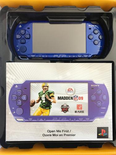 psp 2000, playstation portatil, madden nfl 09, nuevo!!!