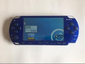 Psp 2001 Usado, Azul, En Perfecto Estado, Con Pila, Cargador