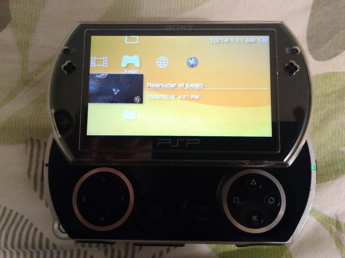 Psp Go 16 Gb Color Negro Programada+cargador - $ 219 en Mercado Libre