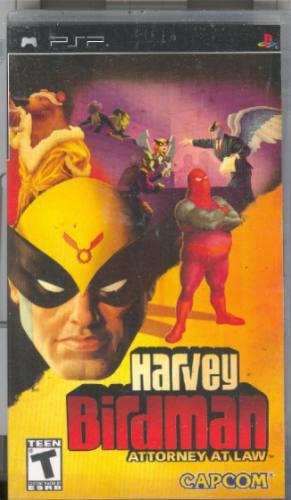 psp  harvey birdman