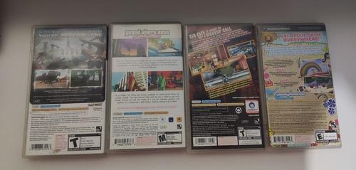 psp juegos y películas originales