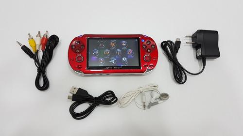 psp mp5 4 gb memoria micro juegos tv color negro