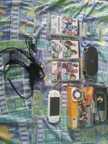 psp slim 2001 edición limitada+juegos+accesorios