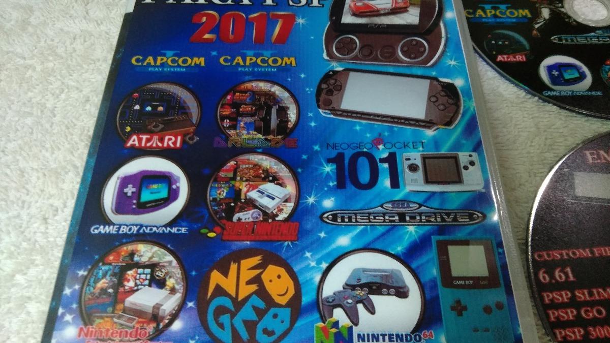 Psp Super Pack Emuladores -10,mil Jogos Colecionador