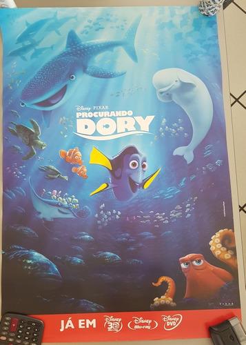 pôster cartaz procurando dory 93x63 cm