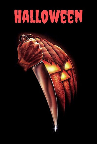 pôster cinema filme terror horror halloween michael myers 01