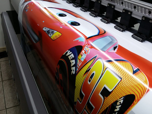 pôster painel decorativo adesivo relâmpago mcqueen carros