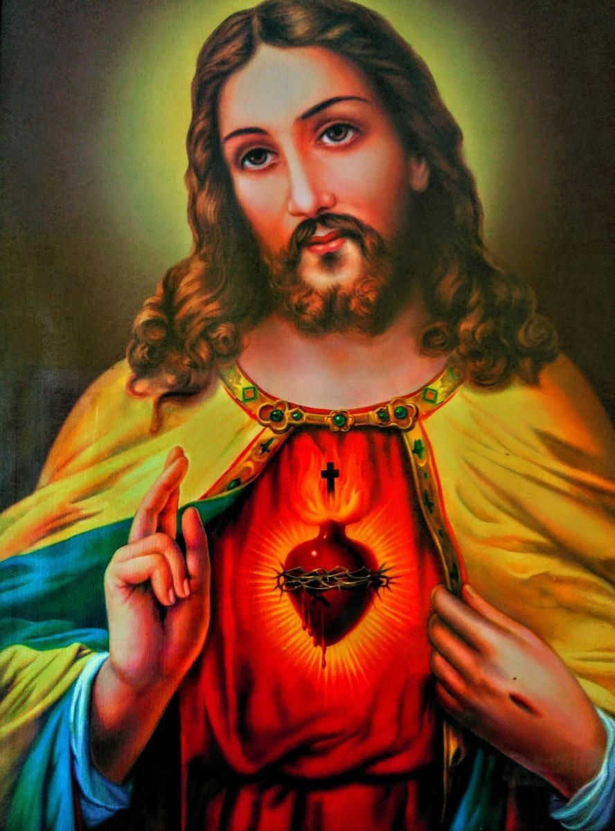 Aparador Acrilico Onde Comprar ~ P u00f4ster Religioso Jesus Cristo Papel Fotográfico A3 P596 R$ 22,52 em Mercado Livre
