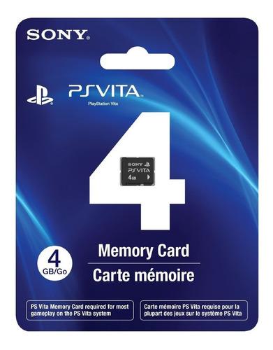 psvita memoria de 4 gb sony original sellada