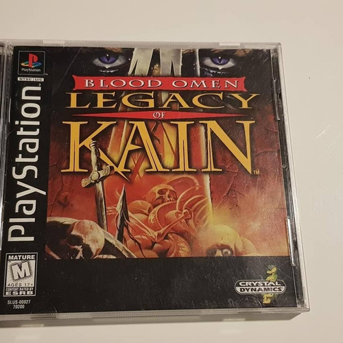 psx playstation 1 blood omen legacy of kain