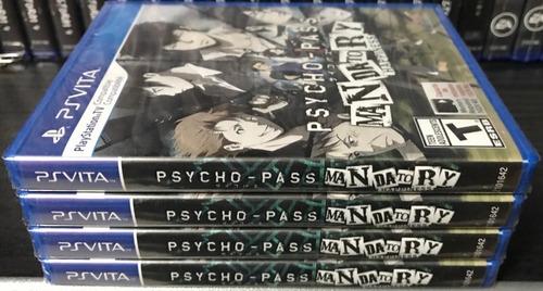 psycho-pass mandatory happiness (nuevo y sellado) - ps vita