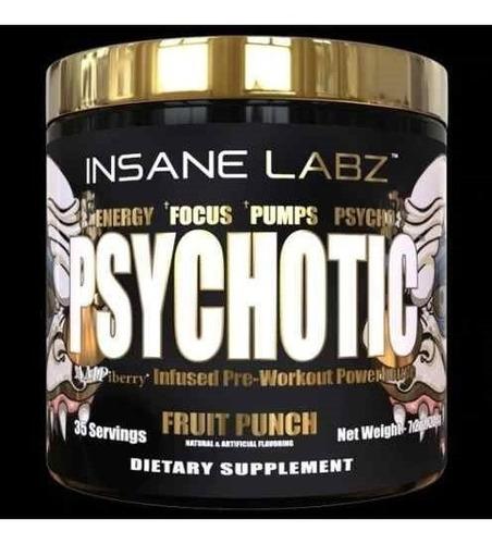 psychotic gold insane pré treino 35 doses
