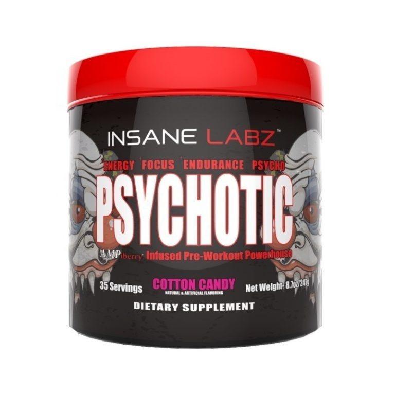 7f3466b69 Psychotic Pre Treino Importado Eua 35 Doses - R  154