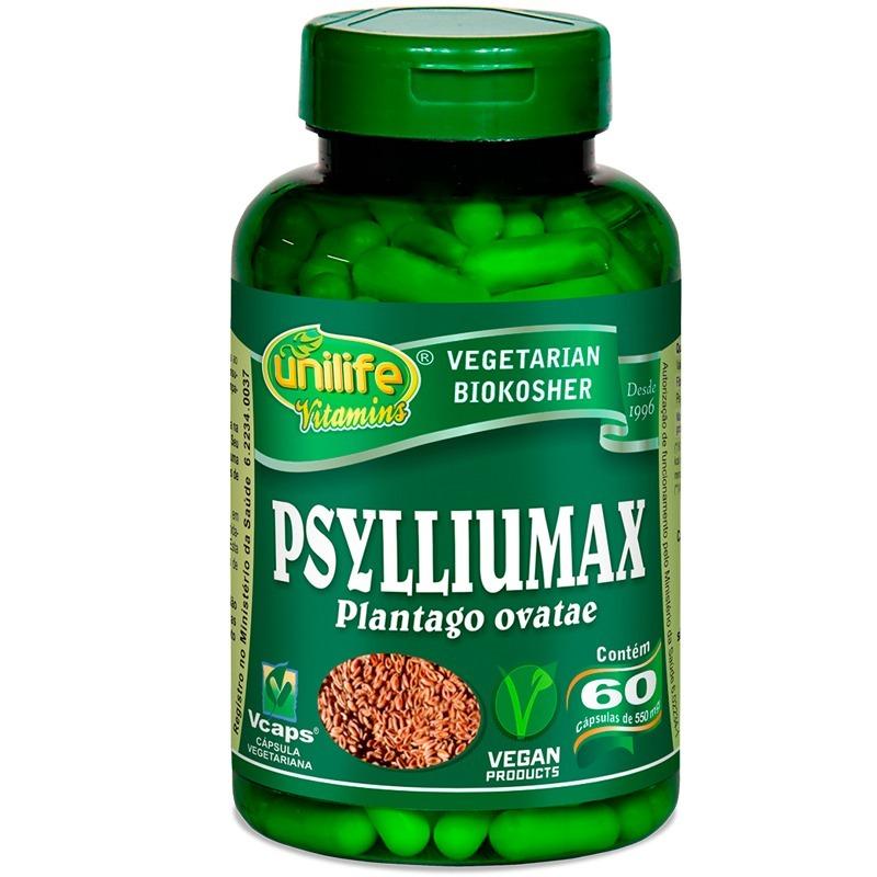 189b34374 psyllium 60 cápsulas psylliumax unilife. Carregando zoom.