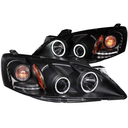 pt g6 05-10 projector hl halo black(ccfl)