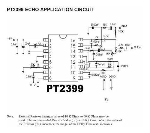pt2399  generador de eco o reververancia ssdielect