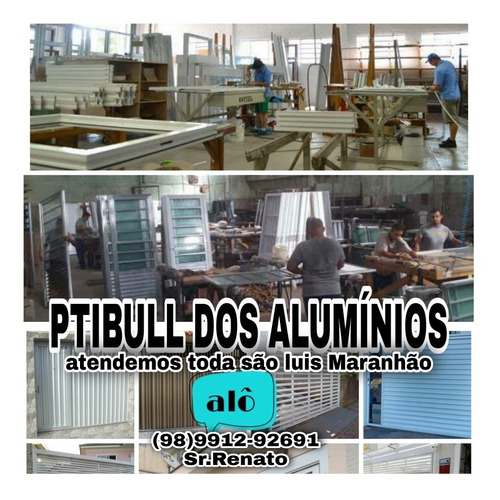 ptibull dos alumínios e vidros