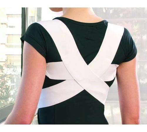 ptm espaldar / corrector postura simple talle m