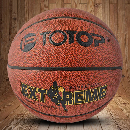 pu leather material official size totop basketball ball trai