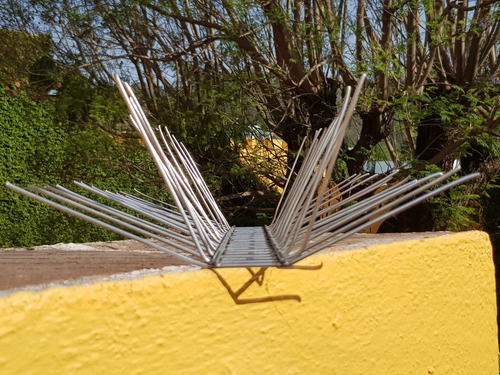 púas anti-palomas y aves 35mt largo (2cm separacion)
