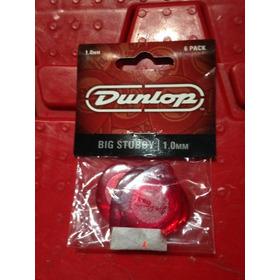 Púas Marca Dunlop Paquetes X 6 De 1.0mm.nuevo