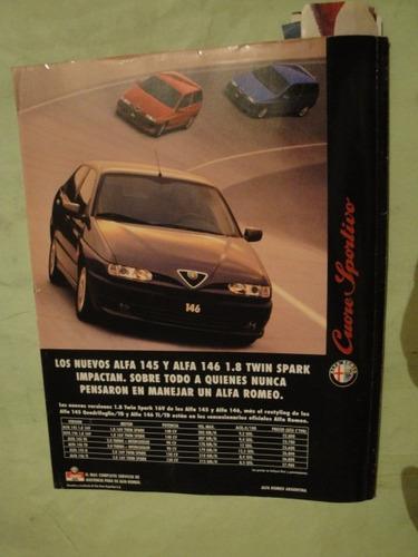 publicidad alfa romeo 146 año 1997