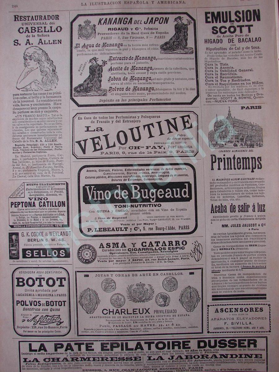 5bdff1fabc20 Publicidad Antigua 1895 Anuncios Clasificados De Esas Epocas ...