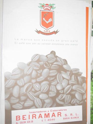 publicidad antigua cafe beiramar bahia blanca