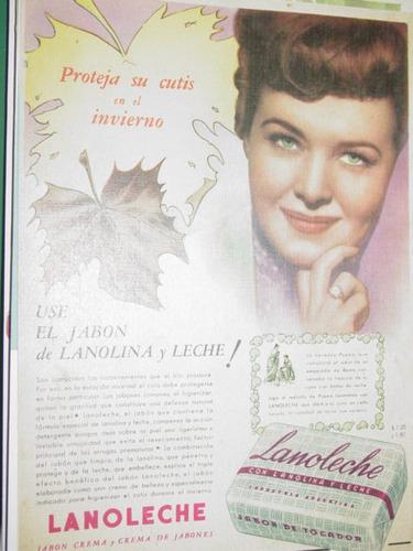 publicidad antigua jabones lanoleche lanolina leche mod1
