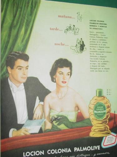 publicidad antigua perfume locion colonia palmolive mod2