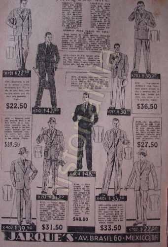 Publicidad Antigua Tiend De Ropa Casa Jarques 1934 D.f  2 -   280.00 ... 8c740b385f9b
