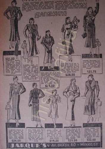 Publicidad Antigua Tiend De Ropa Casa Jarques 1934 D.f -   280.00 en ... 60b8d62c4fc9