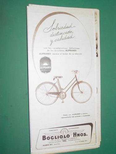 publicidad bicicletas alliprandi bogliolo hnos. mod 2