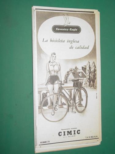 publicidad bicicletas coventry eagle bicicleta inglesa