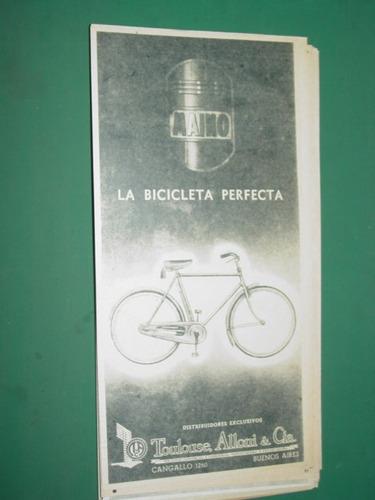 publicidad bicicletas maino toulouse, allioni & cia mod1