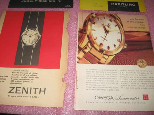 publicidad breitling girard perregaux omega zenith clipping