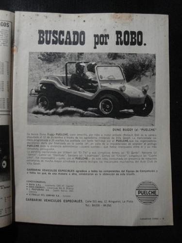 publicidad buggy puelche año 1971