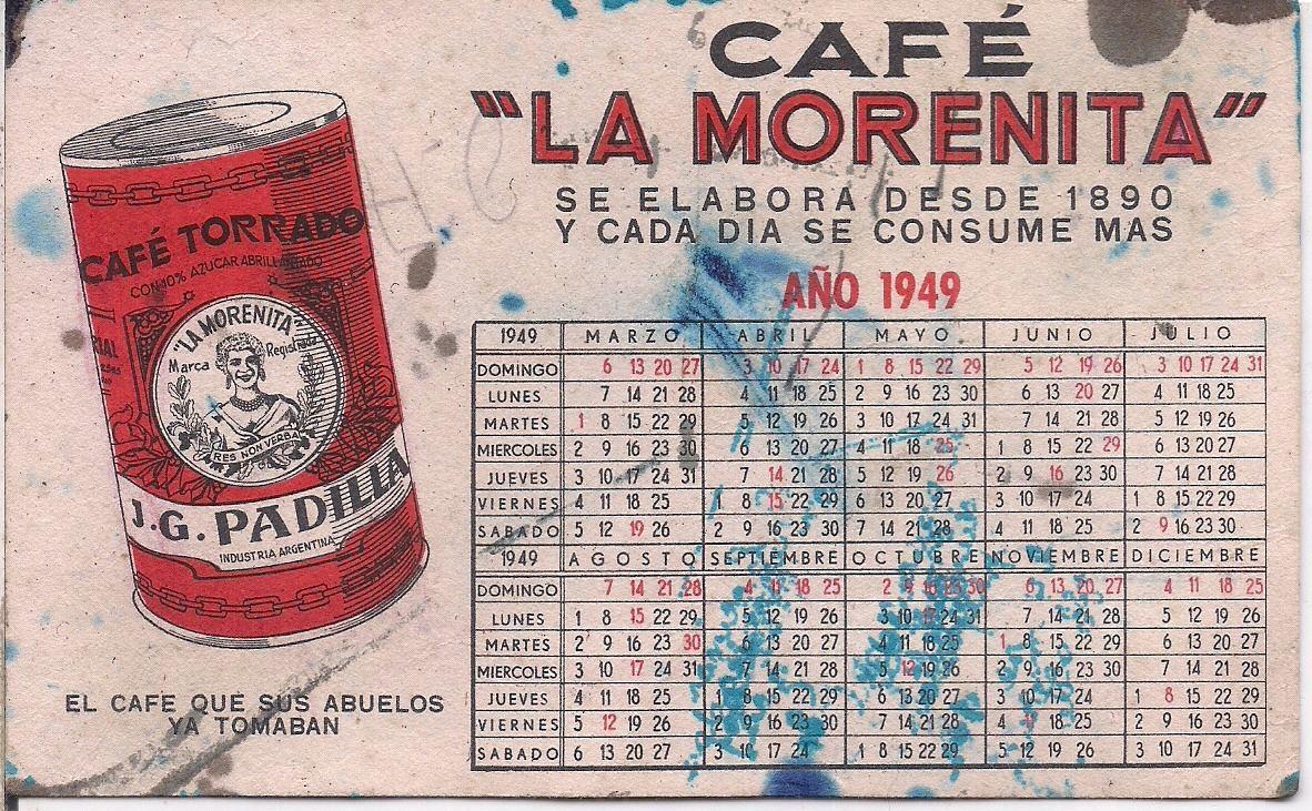 Calendario 1949.Calendario 1949 Ikbenalles