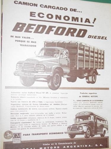 publicidad camiones colectivos bedford general motors