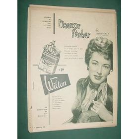 Publicidad Cigarrillos Wilton Eleanor Parker Mgm Hollywood