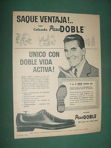 publicidad clipping calzados paso doble saque ventaja