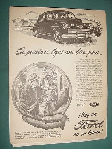 publicidad clipping coches automoviles ford puede ir lejos