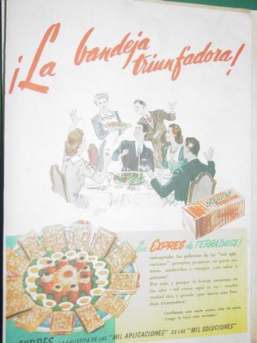 publicidad clipping galletitas expres terrabusi bandeja mod1