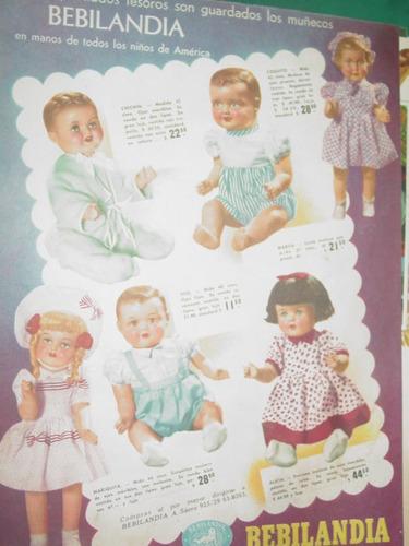publicidad clipping juguetes muñecas bebilandia modelos mod1