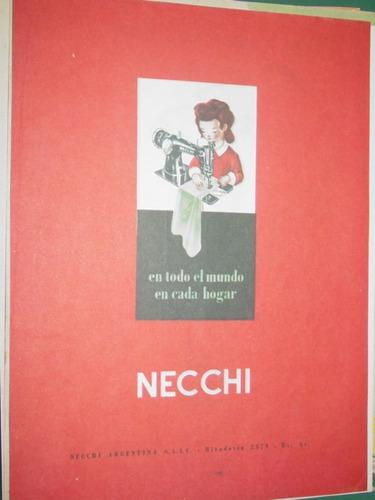 publicidad clipping maquinas de coser sewing machine necchi