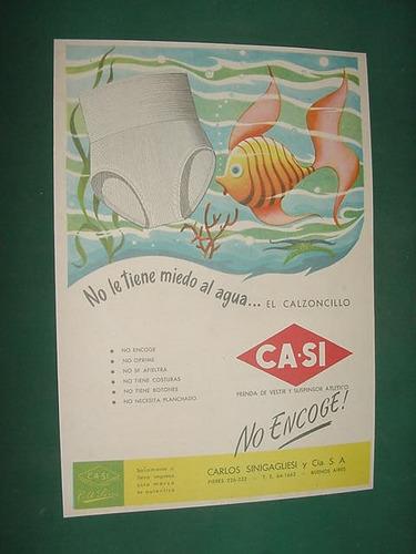 publicidad clipping suspensores ca-si sin miedo al agua pez