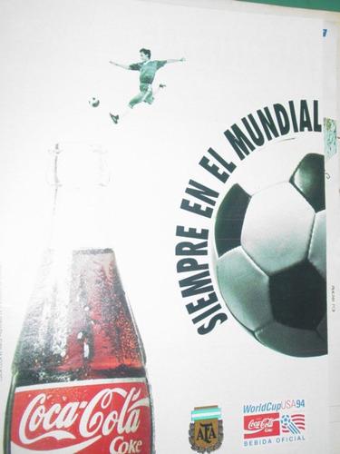 publicidad coca cola mundial estados unidos world cup 1994