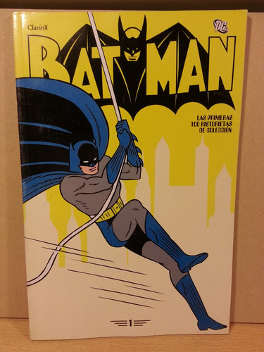 publicidad  coleccion batman tomo n°1 clarin argentina 2012